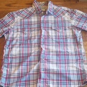 lucky brand button up